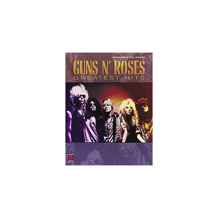 Cherry LaneGuns N' Roses Greatest Hits Guitar Tab Songbook