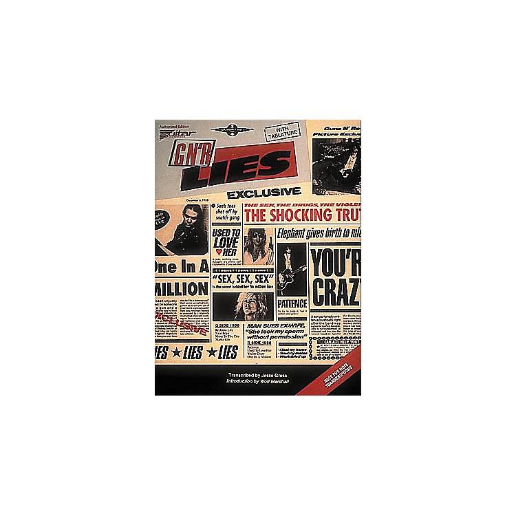 Cherry LaneGuns N' Roses Lies Guitar Tab Songbook