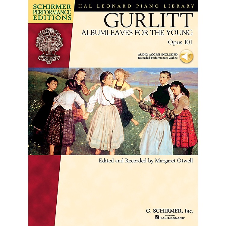 G. Schirmer Gurlitt: Albumleaves for The Young Op 101 Book/CD Schirmer Performance Edition By Gurlitt