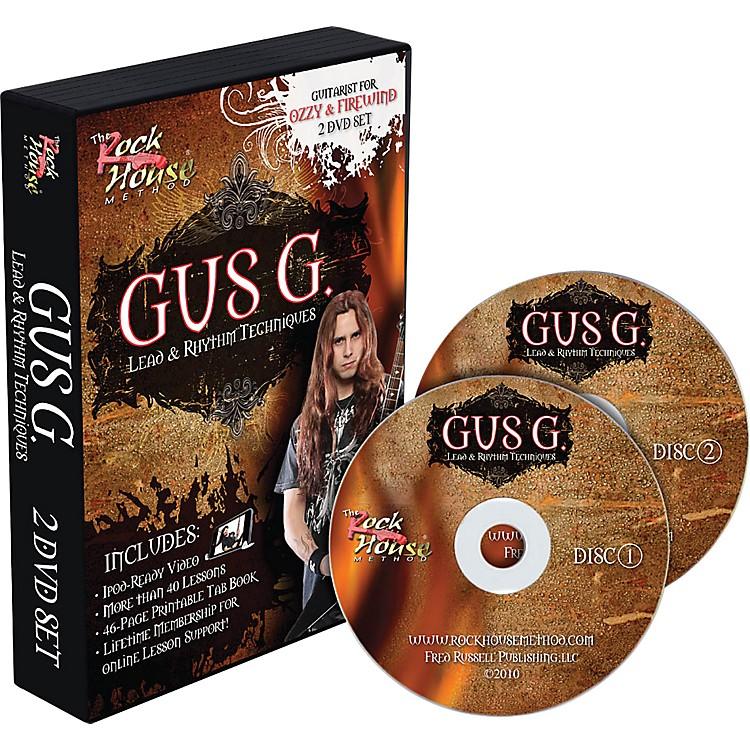 Hal LeonardGus G. Lead & Rhythm Techniques 2 DVD Set
