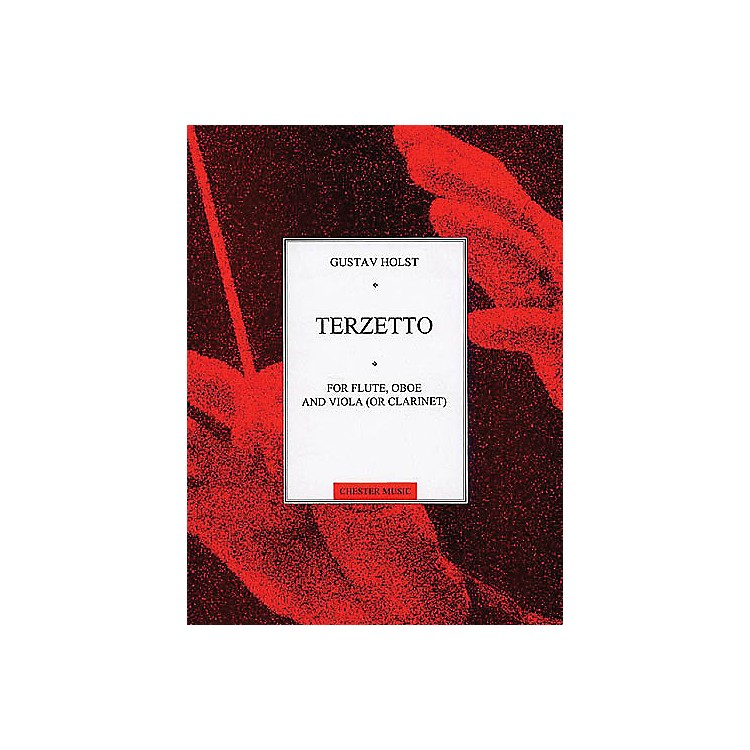 Music SalesGustav Holst: Terzetto For Flute,Oboe And Viola (Or Clarinet) Music Sales America Series