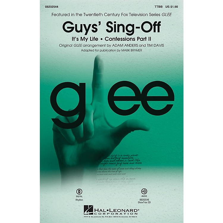 Hal LeonardGuys' Sing-Off (from Glee) ShowTrax CD by Glee Cast Arranged by Mark Brymer