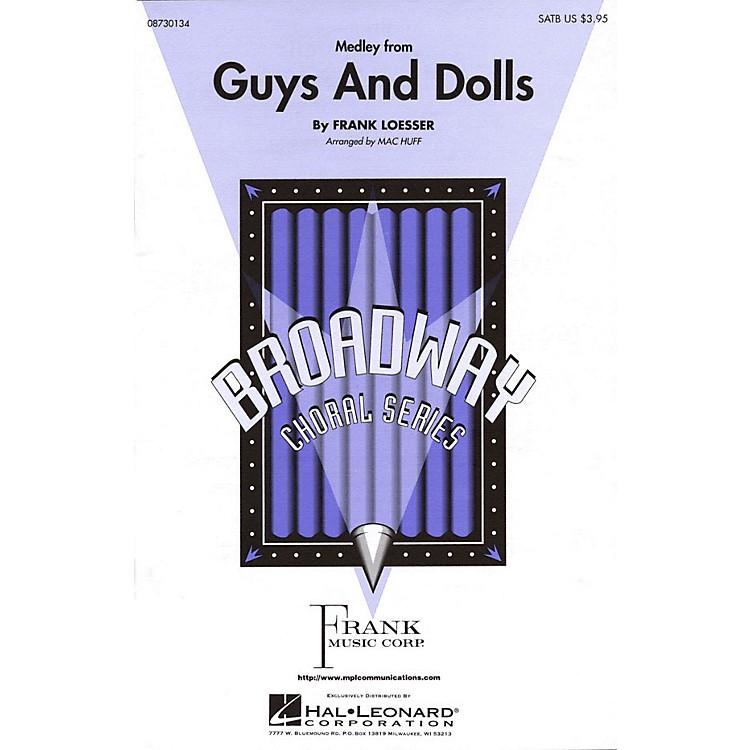 Hal LeonardGuys and Dolls (Medley) ShowTrax CD Arranged by Mac Huff