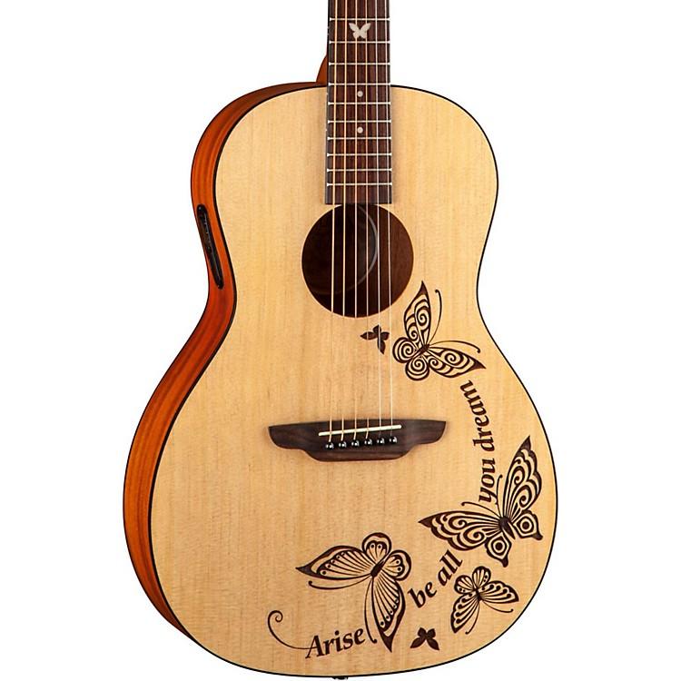 Luna GuitarsGypsy Dream Parlor Acoustic GuitarNatural