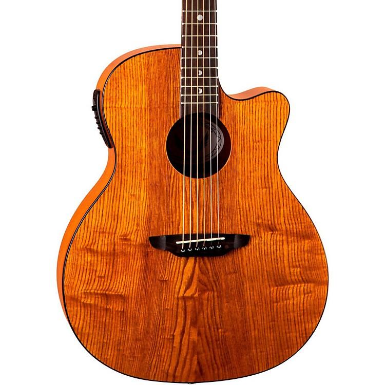 Luna GuitarsGypsy Grand Concert Ash Acoustic-Electric GuitarNatural