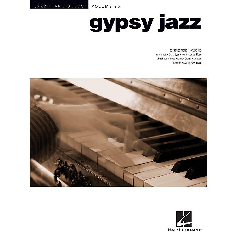 Hal LeonardGypsy Jazz - Jazz Piano Solos Series Volume 20