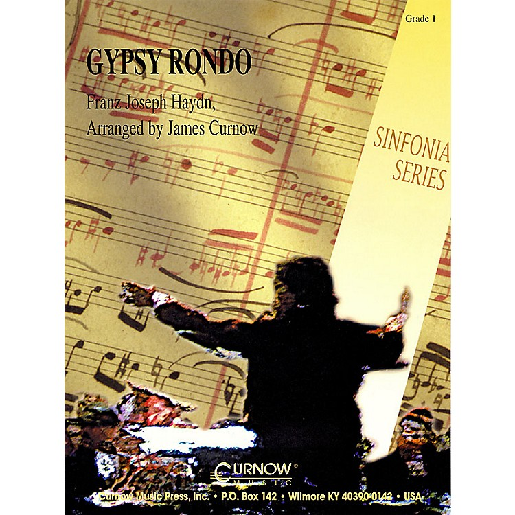 Curnow MusicGypsy Rondo (Grade 1 - Score Only) Concert Band Level 1 Arranged by James Curnow