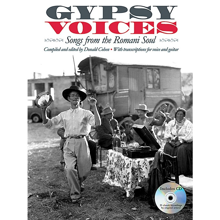 Music Sales Gypsy Voices - Songs from The Romani Soul - Vocal/Guitar Transcriptions
