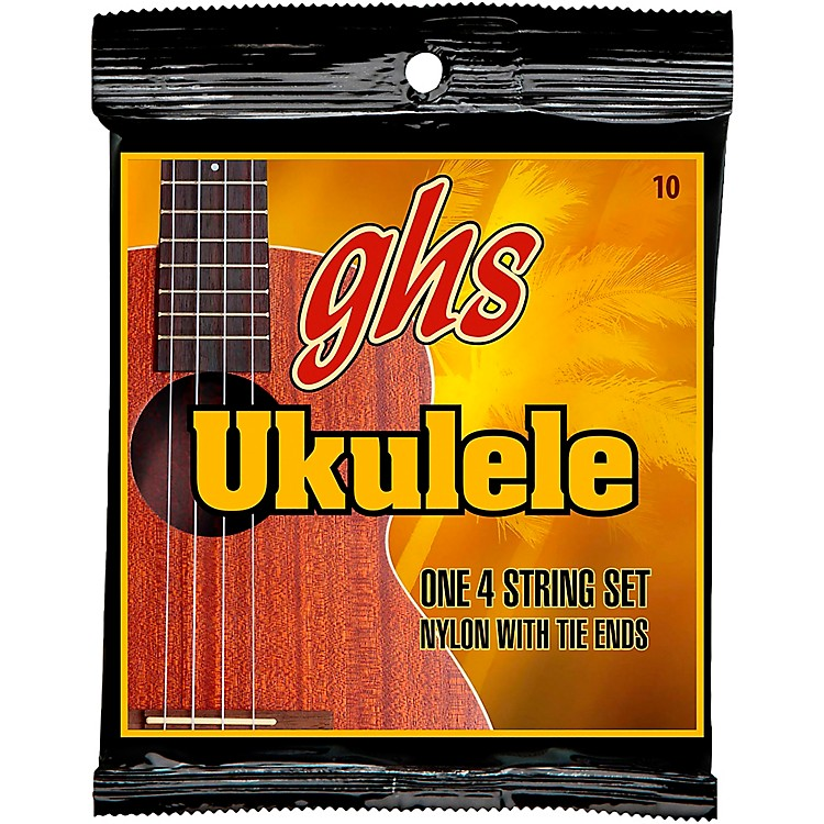 GHS H-T10 Standard Ukulele Black Nylon Strings