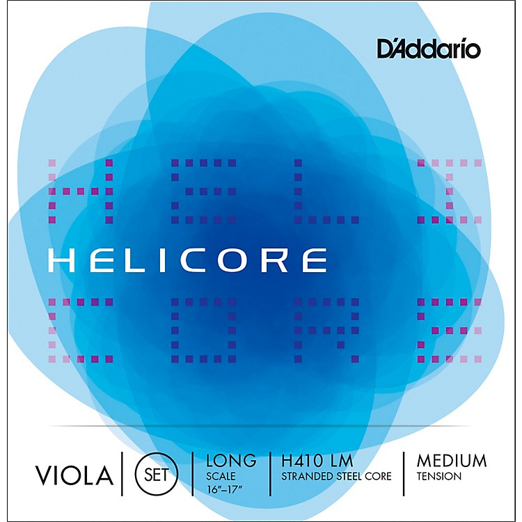 D'AddarioH410 Helicore 16+ Inch Viola String Set16+ Long Scale Medium