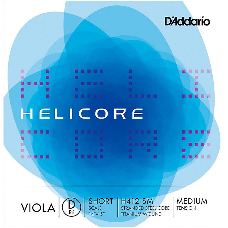 D'Addario H412 Helicore Long Scale Viola D String 14