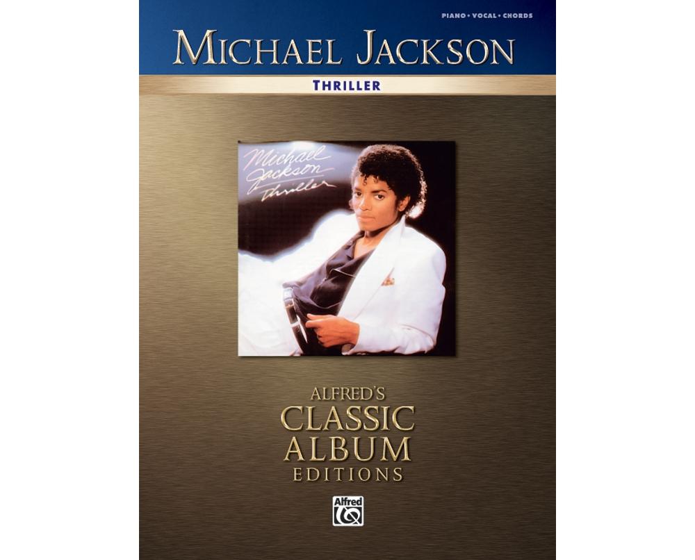 Alfred Michael Jackson Thriller Pianovocalchords 9780739042571 Ebay