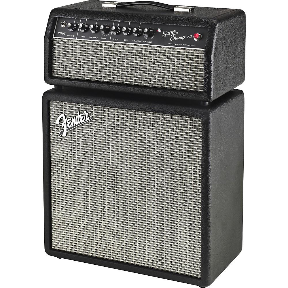 fender super champ x2 hd 15w tube guitar amp head black 885978117437 ebay. Black Bedroom Furniture Sets. Home Design Ideas