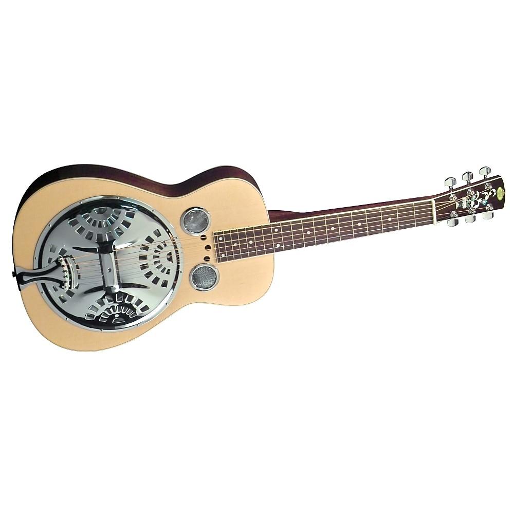 regal rd 40s square neck resonator guitar natural 190839109644 open box ebay. Black Bedroom Furniture Sets. Home Design Ideas