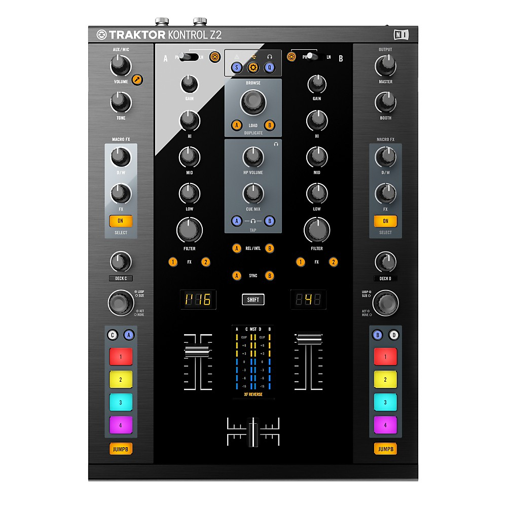Audio/midi Interfaces United Traktor Audio 8 With Timecode Vinyl And Timecode Cd Profit Small Dj Equipment