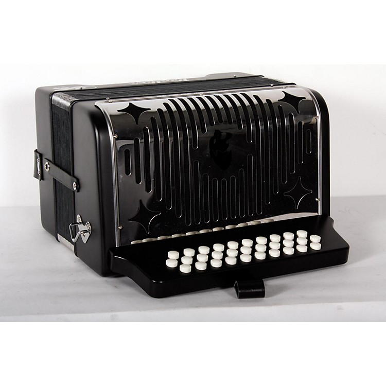 HohnerHA-3100 Panther GCF Diatonic AccordionMatte Black888365857664