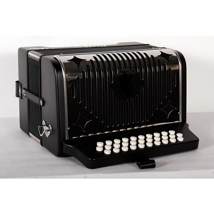 HohnerHA-3100 Panther GCF Diatonic AccordionMatte Black888365910338