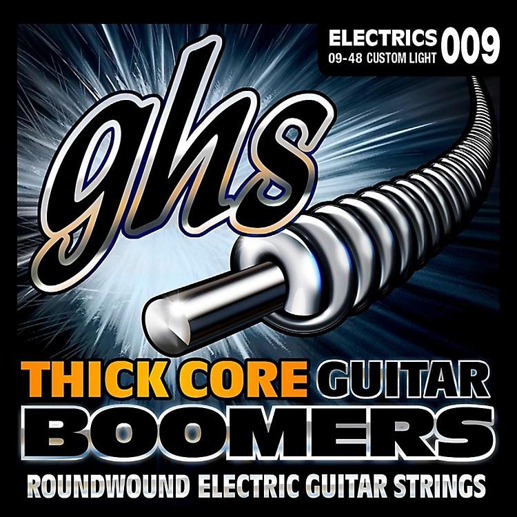 GHSHC-GBCL Thick Core Boomers Custom Light Electric Guitar Strings (9-48)