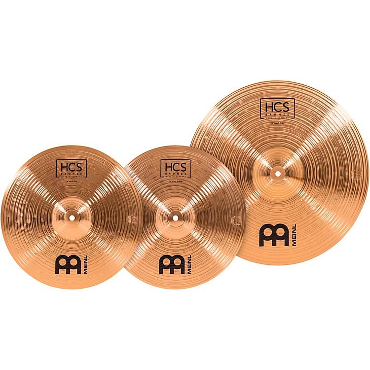 MeinlHCS Bronze Basic Cymbal Set14/18 in.