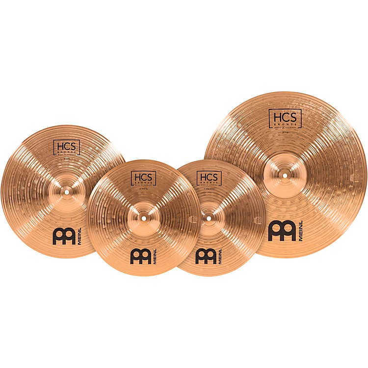 Meinl HCS Bronze Complete Cymbal Set 14, 16 and 20 in.