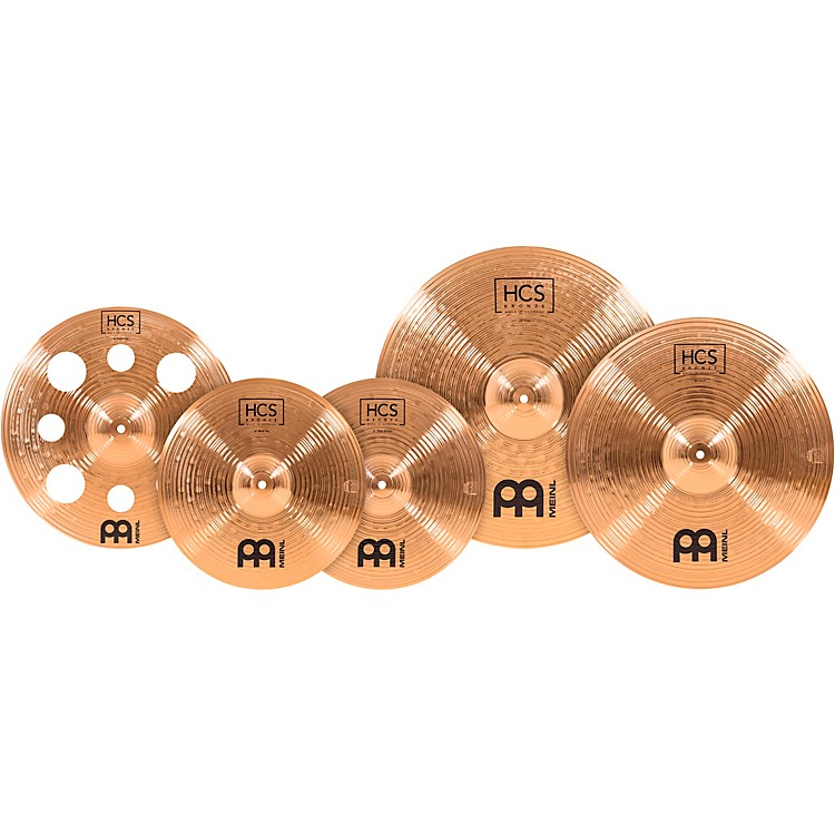 MeinlHCS Bronze Expanded Cymbal Set14, 16, 18 and 20 in.