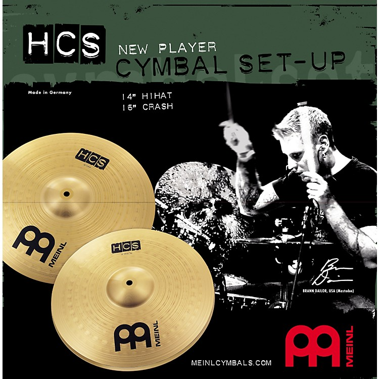 Meinl HCS New Player Cymbal Setup