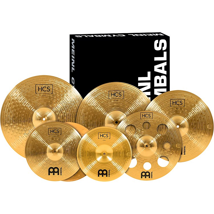meinl hcs scs1 ultimate complete cymbal set pack with free 16 inch trash crash music123. Black Bedroom Furniture Sets. Home Design Ideas