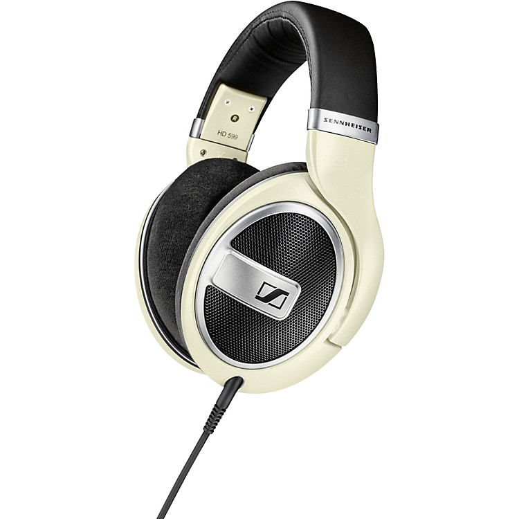 Sennheiser HD 599 Open-Back Headphones Matte Ivory
