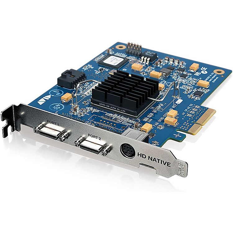 Avid HD Native PCIe Only (No Software)