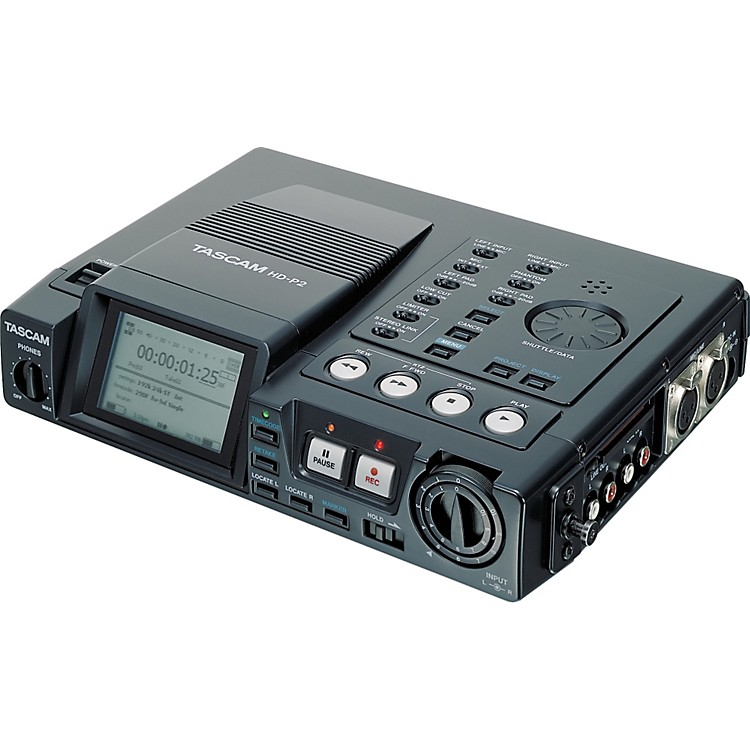 Tascam HD-P2 Portable High-Definition Stereo Audio Recorder