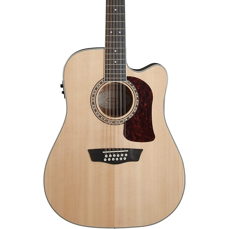 WashburnHD10SCE12 Heritage 10 Series 12-String Acoustic-Electric Guitar