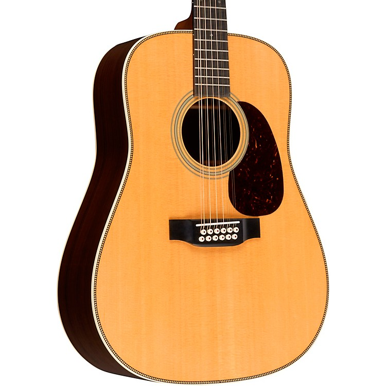 Martin HD12-28 Standard 12-String Dreadnought Acoustic Guitar Aged Toner