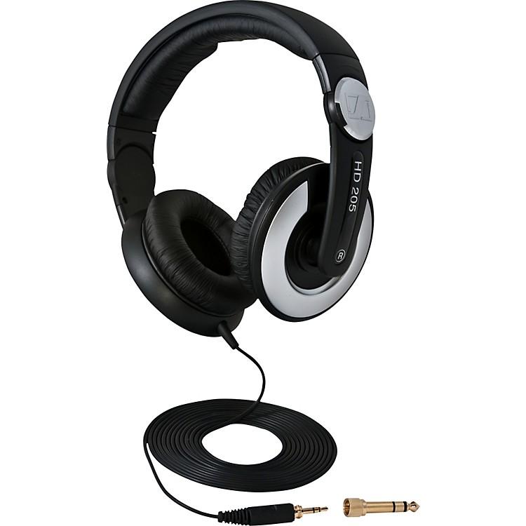 SennheiserHD205 II Closed Back On Ear Studio Headphones