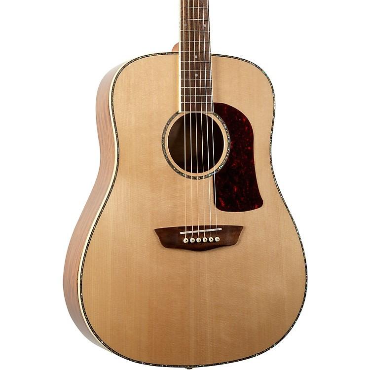 WashburnHD75SG Dreadnought Acoustic Guitar - Natural OvangkolNatural