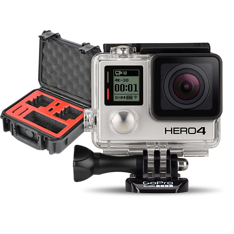 GoProHERO4 Black - Standard with Double Case