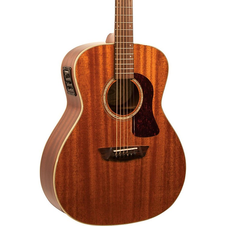 WashburnHG120SWEK Heritage Series Grand Auditorium Acoustic-Electric GuitarNatural