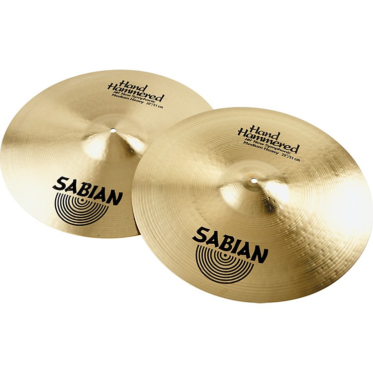 Sabian HH New Symphonic Medium Heavy Series Orchestral Cymbal 18 in.