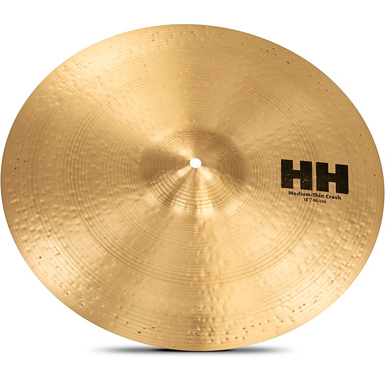 Sabian HH Series Medium Thin Crash Cymbal  18 in.