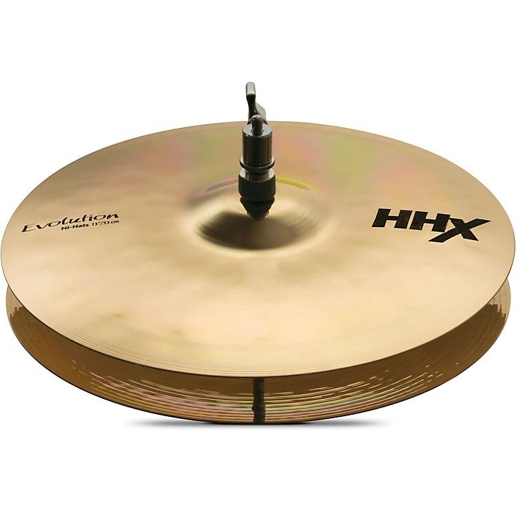 SabianHHX Evolution Series Hi Hats13 in.