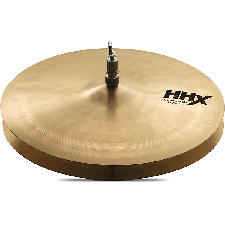 Sabian HHX Groove Hi-Hat Cymbals 15 in.