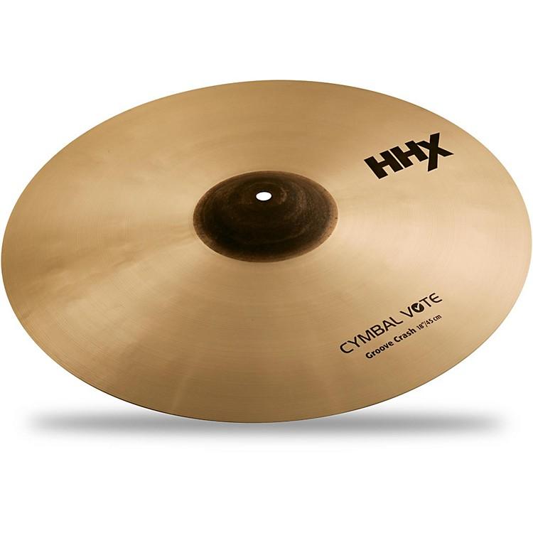 SabianHHX Series Groove Control Crash Cymbal Brilliant16 in.