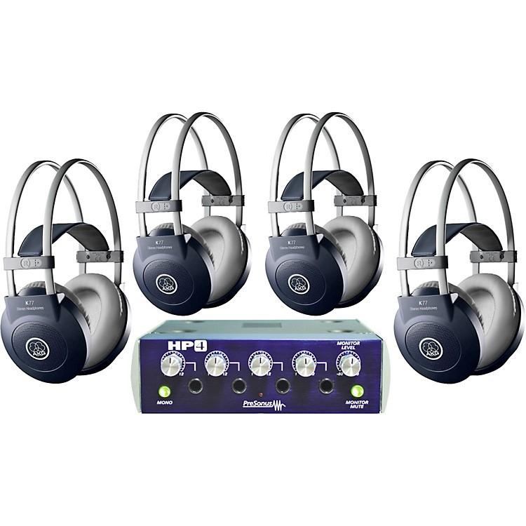 AKGHP4/K77 Headphone Four Pack