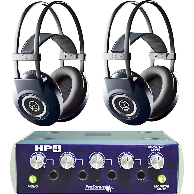 AKGHP4/K99 Headphone Two Pack