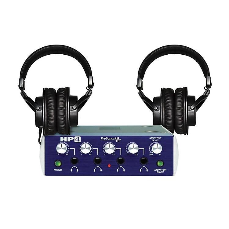 PreSonusHP4 TH-200X Headphone Package