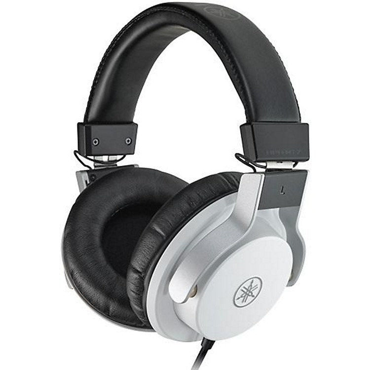 Yamaha HPH-MT7 Studio Monitor Headphones White