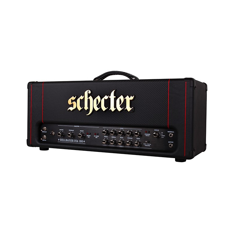 Schecter Guitar Research HR100-HE HR Stage 100 100W Tube Guitar Amp Head