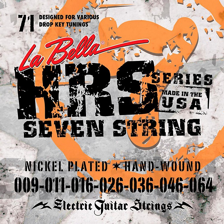 LaBella HRS-71 7-String Electric Guitar Strings