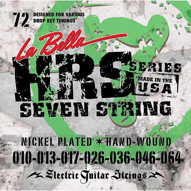 LaBellaHRS-72 7-String Electric Guitar Strings