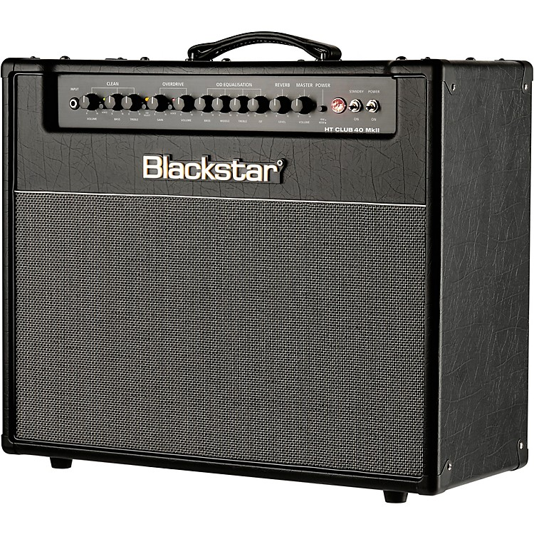 blackstar ht venue series club 40 40w 1x12 combo mkii black music123. Black Bedroom Furniture Sets. Home Design Ideas