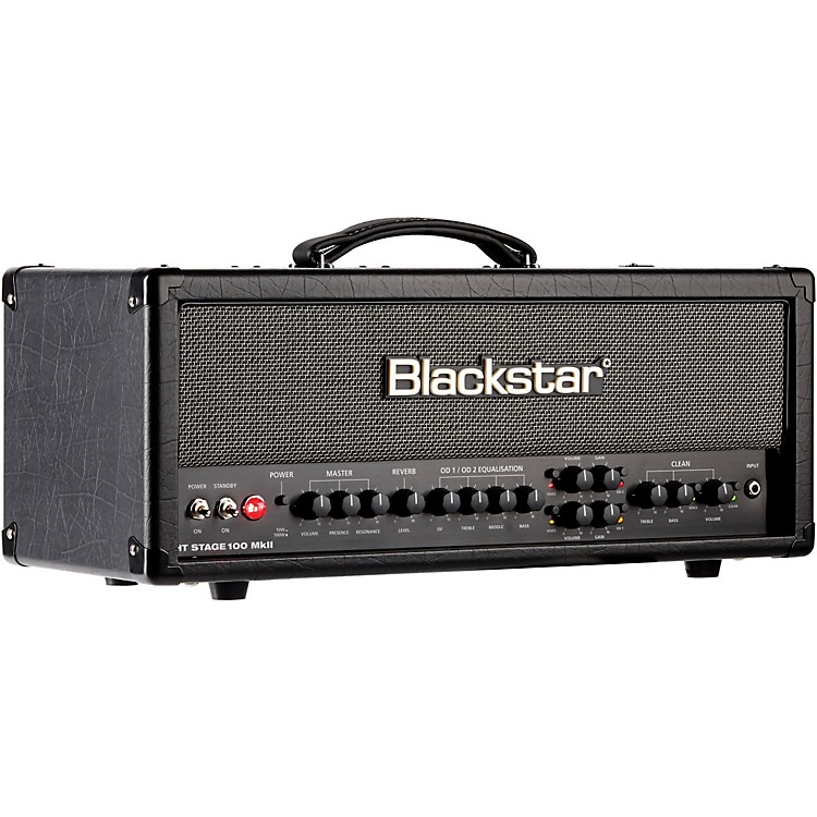 Blackstar HT Venue Series Stage 100 MKII 100W Tube Guitar Amp Head Black